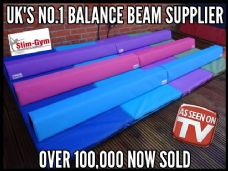 Junior Floor Foam Balance Beam x TWO of 1.2 Mtr (8FT)